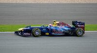 Webber 2012 Britain Race