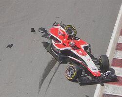 Marussia Crash