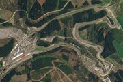 Circuit de Spa-Francorchamps, April 22, 2018 SkySat (cropped)
