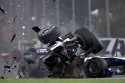 Kamui Kobayashi Australian Grand Prix Accident 2010