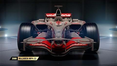 F1 2017 Classic Car Reveal - McLaren UK