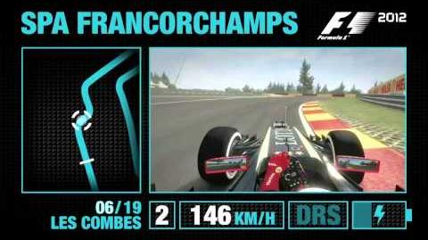 F1 2012 - Spa-Francorchamps Hotlap Video