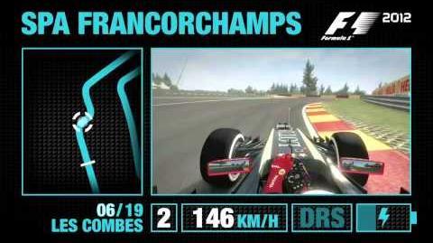 F1 2012 - Spa-Francorchamps Hotlap Video