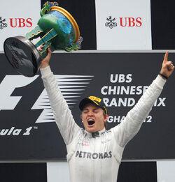 2012 Chinese Grand Prix Winner