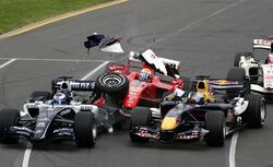 2006 Australian Grand Prix Accident