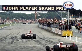 Hunt British Grand Prix 1977