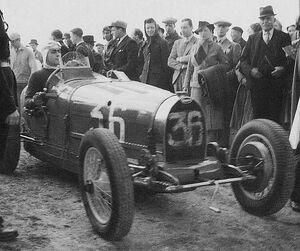 1939 gp des frontieres - trintignant (bugatti 51) 1st
