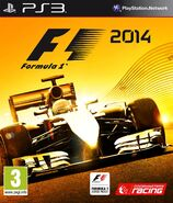 F1 2014 PS3 cover