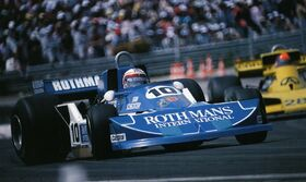 Ian Scheckter French Grand Prix 1977