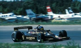Peterson Swedish Grand Prix 1978