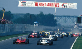 Start 1979 Canadian Grand Prix