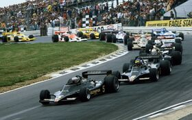 Start British Grand Prix 1978