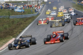 Start Swedish Grand Prix 1978