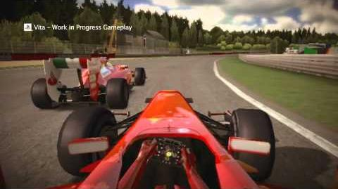 "F1 2011 - ""Compete on the Go"" PS Vita Trailer"