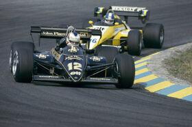 Mansell 1984 Brazilian Grand Prix