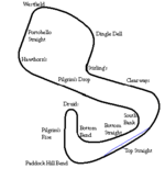 Brands Hatch Grand Prix circuit 1960-1975