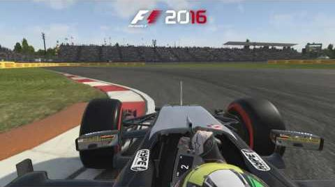 F1 2016 - Mexico Hot Lap PEGI
