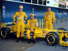 1998-Jordan-Test-Driver-Pedro-De-La-Rosa-with 2714170