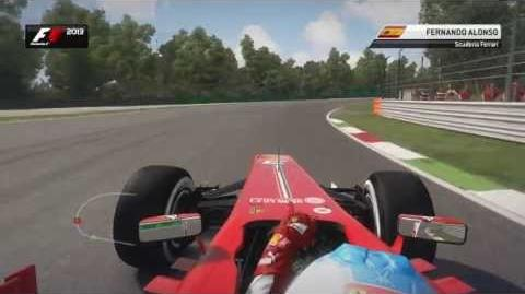 F1 2013 Monza Hotlap