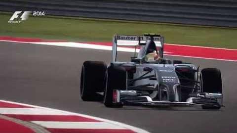 F1 2014 Austin, COTA Hot Lap