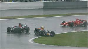 Webber and Vettel collide in Fuji