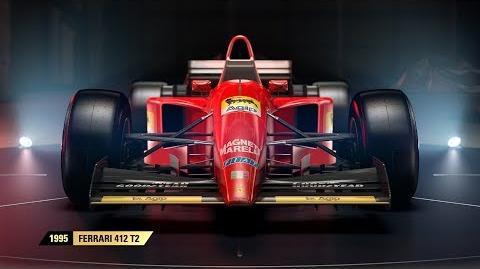 F1 2017 Classic Car Reveal - Scuderia Ferrari UK