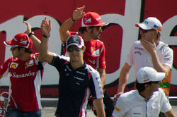 Monza 2012 Drivers Parade