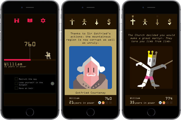 Reigns on iOS