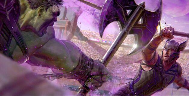 thor ragnarok hulk gladiator 1