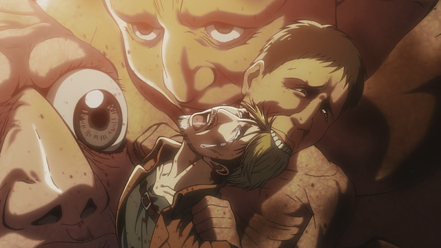 Attack on Titan tragic deaths Miche Zacharius