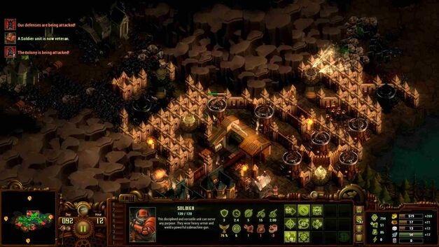 They Are Billions towers walls