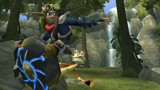 Jak and Daxter on the JET-Board