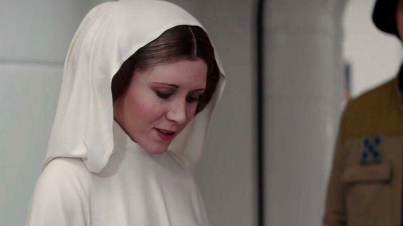 Rogue One ending Leia