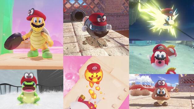 Super Mario Odyssey capture