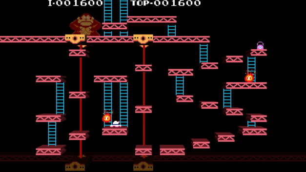 arcade game championship editions Donkey Kong Mario Nintendo