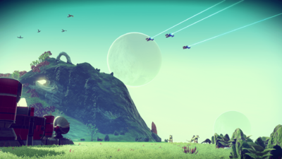 Captain's Log: 'No Man's Sky' Creatures and Plant Life