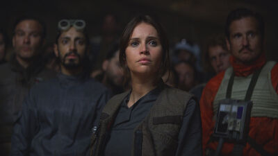 Box Office: 'Rogue One' Barely Hangs On At #1