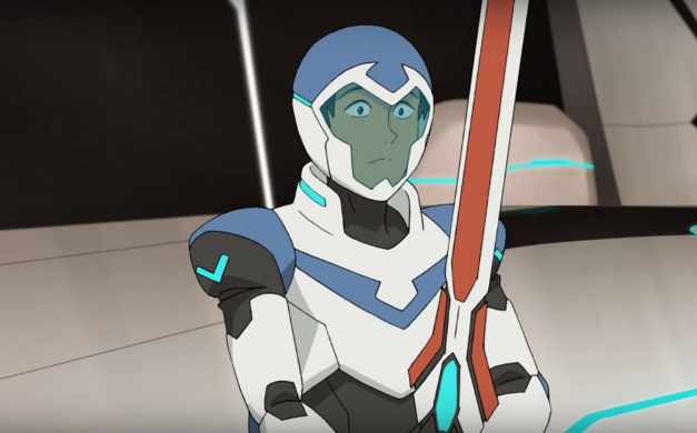 Lance with Altean broad sword