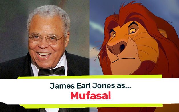 james earl jones mufasa the lion king