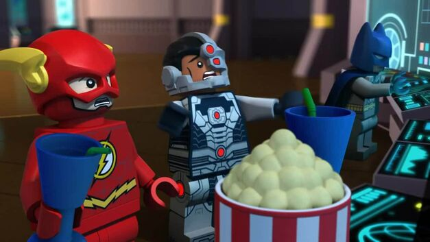 Lego Justice League Cosmic Flash