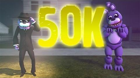 FNAF SFM Bonzi Bonnie 5 50K Special! (Five Nights at Freddy's Animation)
