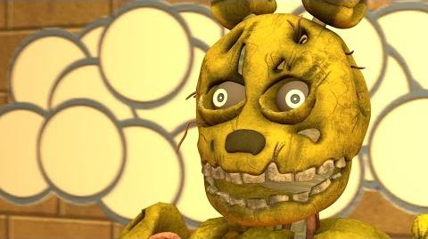 FNAF SFM Bonzi SpringBonnie (Five Nights at Freddy's 3 Animation)