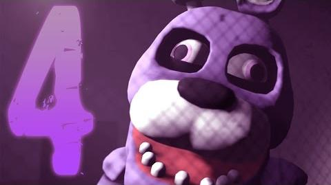 FNAF SFM Bonzi Bonnie 4 (Five Nights at Freddy's Animation)