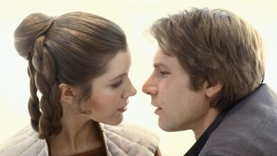 One 'Ship to Rule Them All: Han Solo and Leia Organa from 'Star Wars'