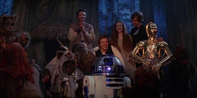 star wars episode VI return of the Jedi cast
