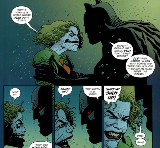 Batman and Martha Wayne: Flashpoint Timeline
