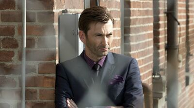 Designing David Tennant's Look for 'Jessica Jones' Season 2