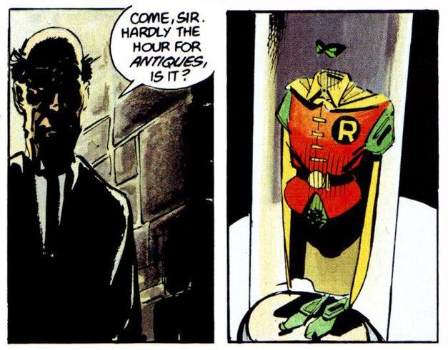 Dead Robin Jason Todd Batman Dark Knight Returns