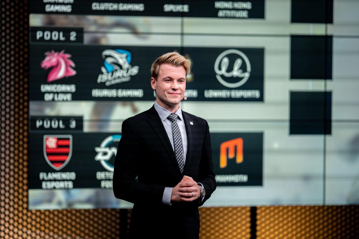 Caster and on-air talent manager Trevor 'Quickshot' Henry