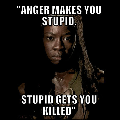 michonne meme the walking dead